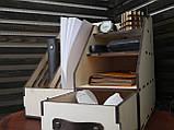 Настольный органайзер для канцелярских принадлежностей, фото 4