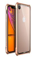 Чехол-Бампер Luphie Fundas для iPhone XR Gold AL4267, КОД: 1661457