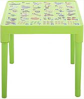 Стол детский Азбука английская Оливковый, КОД: 1128915