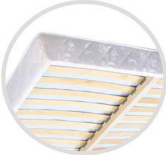 КАРКАСНИЙ матрац з ламелями на пружинному блоці BONNEL / POCKET SPRING