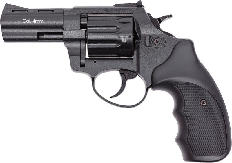 "Stalker Револьвер під патрон Флобера 4 мм Stalker S 3"" Black (силуміновий барабан)"