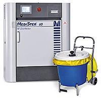 Установка MediSter® 60 для утилизации медицинских отходов