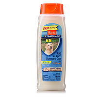 Hartz (Харц) Шампунь для собак от блох и клещей с овсяным маслом 532мл