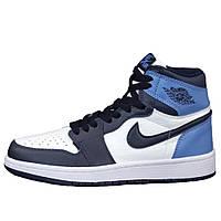 Мужские / женские кроссовки Nike Air Jordan 1 Retro High, кожаные кроссовки найк аир джордан 1 ретро хай