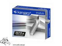 Скобы для мощного степлера Kangaro №23/17-Н 1000шт до 150 листов