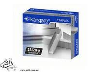 Скобы для мощного степлера Kangaro №23/20 1000шт до 180 листов