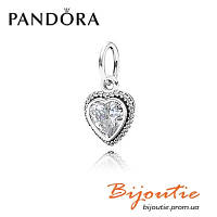 Pandora Шарм СВЕРКАЮЩАЯ ЛЮБОВЬ 390366CZ серебро 925 Пандора оригинал