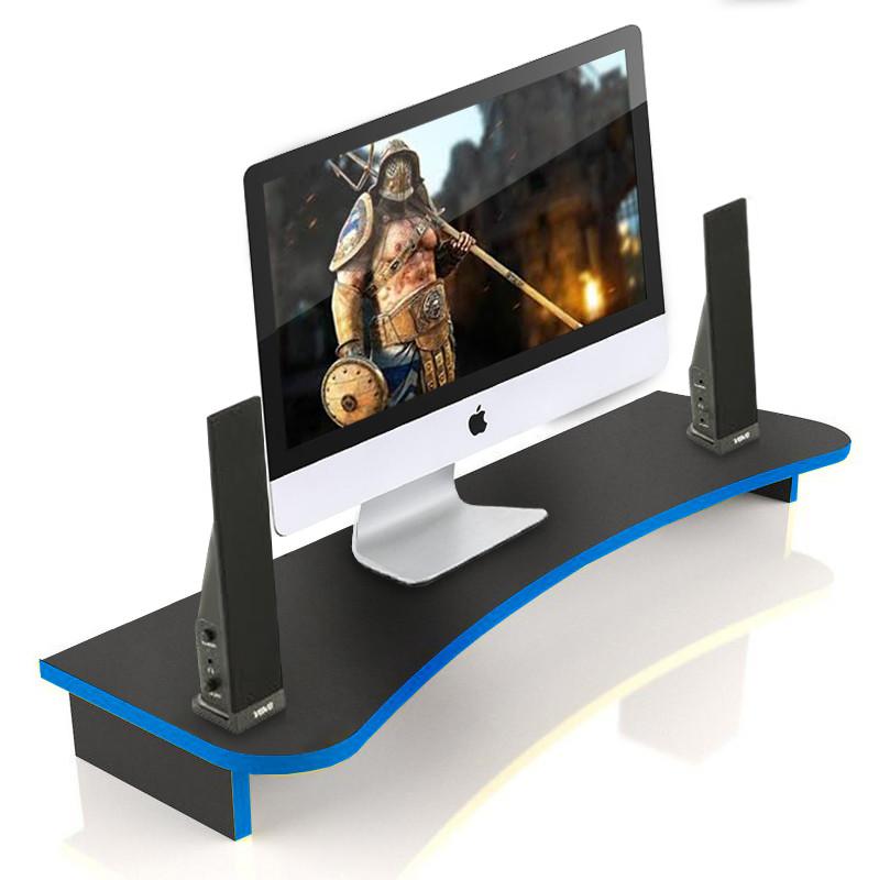 Подставка для монитора ZEUS Сфера-1600, черно-синий