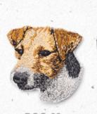На одежду нашивка термонаклейка апликация собака джек рассел Jack Russell Terrier супер качество как живой