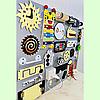 Развивающая доска размер 50*60 Бизиборд для детей 40 элементов!, фото 5