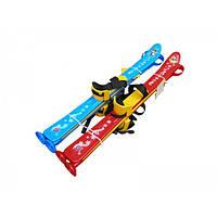 Лыжи детские пластмассовые Технок 3350