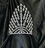 Корона на конкурс (18 см) красоты мисс королева  (для нагородження переможниці конкурсу краси королеви міс), фото 2