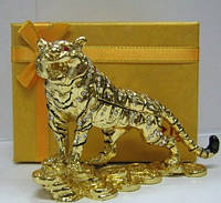 Сувенир из Китая шкатулка тигр