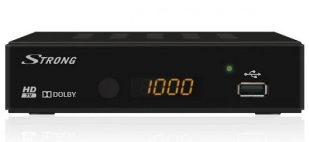 T2 ресивер Strong SRT 8202 Dolby Digital AC3 HD TV