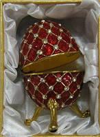 Прикольный сувенир из Китая шкатулка яйцо