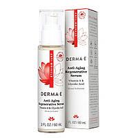 Омолаживающая сыворотка ретинол + гликолевая кислота Derma E Anti-Wrinkle Regenerative Serum 60 мл