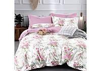 Комплект постельного белья семейный ранфорс 21138