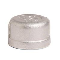 Нержавейка  заглушка (Stainless Steel) 1/2 в