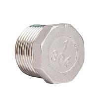 Нержавейка  заглушка (Stainless Steel) 1 1/2 н