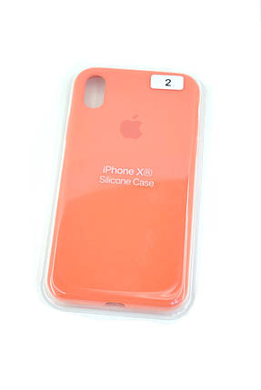 Чехол для телефона iPhone 12ProMax Silicone Case original FULL №2 persimmon (4you), фото 2