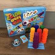 Настольная игра цветные колпачки Crazy Color Cups Danko Toys развивающая для детей от 4 лет