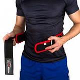 Пояс для важкої атлетики Power System 5545 Чорно-Червоний, Неопрен L SKL24-143928, фото 3
