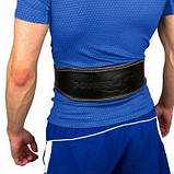 Пояс для важкої атлетики PowerPlay 5084 Чорно-Жовтий M SKL24-143935, фото 2