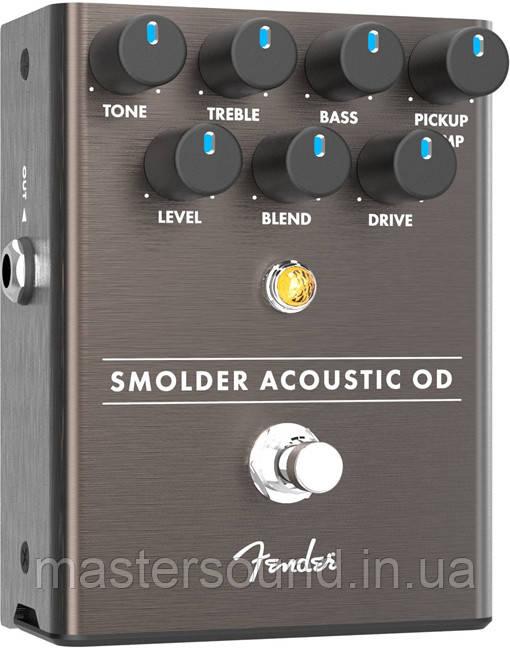 Гітарна педаль Fender Pedal Smolder Acoustic Overdrive