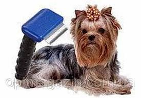 Щетка для груминга собак, кошек Furminator deShedding tool (Фурминатор) Fubnimroat