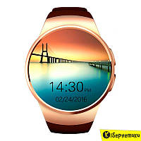 Смарт-часы SmartYou S1 Gold with Brown strap (SWS1G)