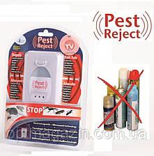Ультразвуковий електромагнітний відлякувач комах і гризунів Pest Reject (Пест Ріджект, фото 2