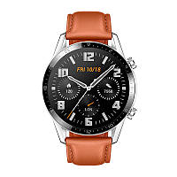 Смарт-годинник HUAWEI Watch GT 2 46mm Classic Pebble Brown