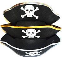 """Шляпа """"Пиратская треуголка"""""""