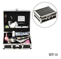 VIP набор для профессионального наращивания ресниц Lady Victory (+ CD с видео-уроками) LDV SET-15 /0-03
