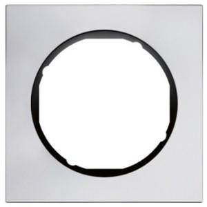 Рамка 1-ная алюминий /чёрный Berker R.3