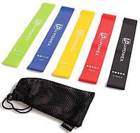 Фитнес резинки U-powex | Лента эспандер для фитнеса | Резинки для тренировок