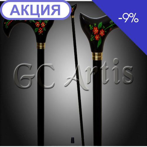 Трость Петриковка GC-Аrtis FA-Petr-006-BL (GC-Artis)