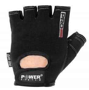 Перчатки для фитнеса и тяжелой атлетики Power System Pro Grip Black Xxl PS-2250 SKL24-145097, фото 2