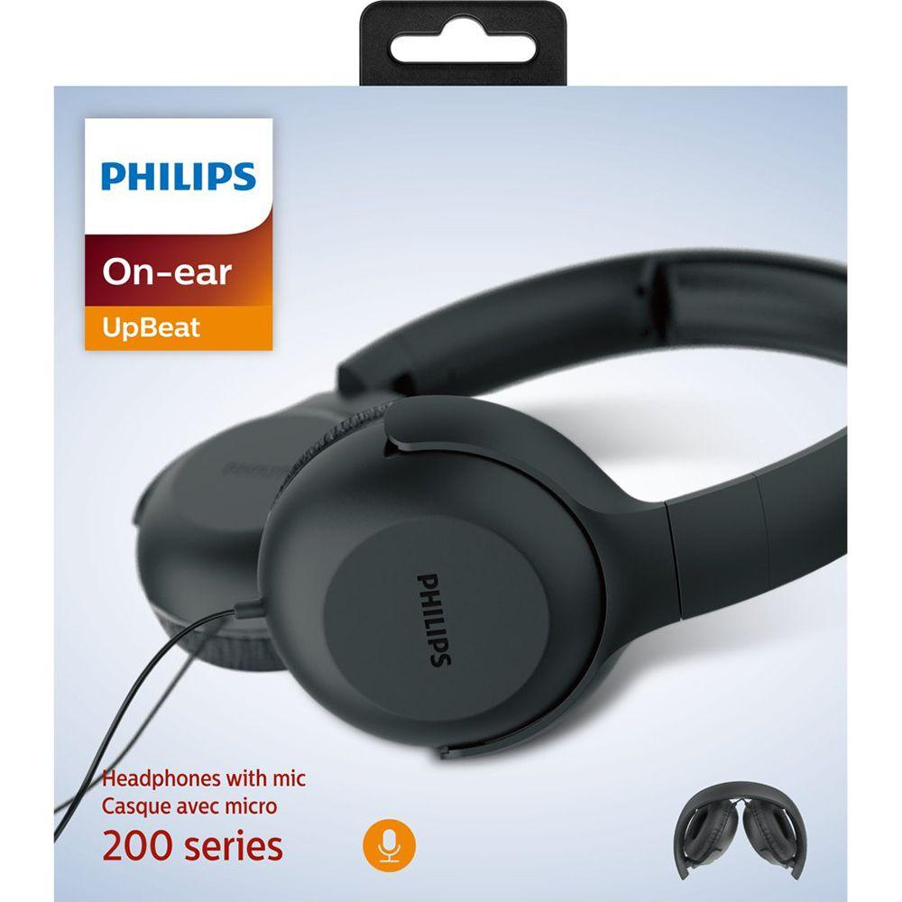 Наушники Philips UpBeat TAUH201BK Black