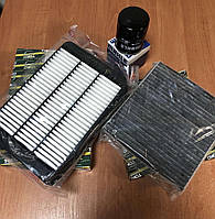 Комплект фильтров Mitsubishi Lancer x 1.5 2.0 Outlander xl лансер 10 аутлендер