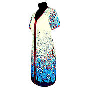Летний женский халат купон  с 44 по 74 размер, фото 2