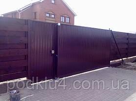 Ворота в'їзні відкатні, фото 2