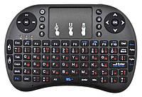 Беспроводная русская клавиатура Rii mini i8 (MWK08/i8) 2.4G черный (2231)