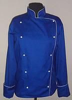 Двубортная куртка повара, спецодежда для повара