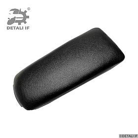Кришка підлокітника Audi A4 B6 чорна еко шкіра петлі 1.6 mm