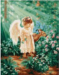 Ангелочек в райском лесу