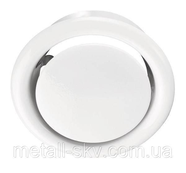 Анемостат металевий витяжної 100мм