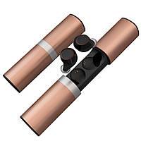 Беспроводные наушники JRGK S2-TWS 5.0 с боксом Gold (13190)