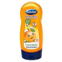 """Шампунь для волосся і тіла """"Стиглий абрикос"""" Bubchen 230 мл (7613034201393)"""