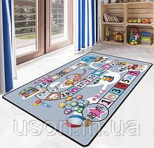 Коврик прямоугольный в детскую комнату Homytex 140*190 Fun game